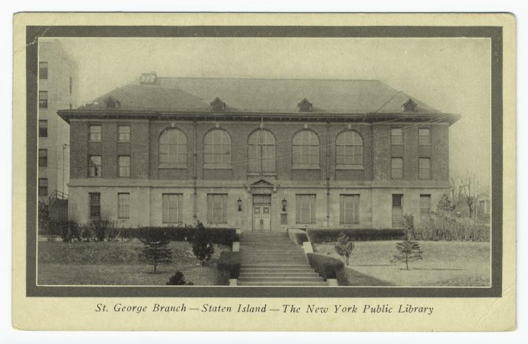 St George Library Center Staten Island Ny